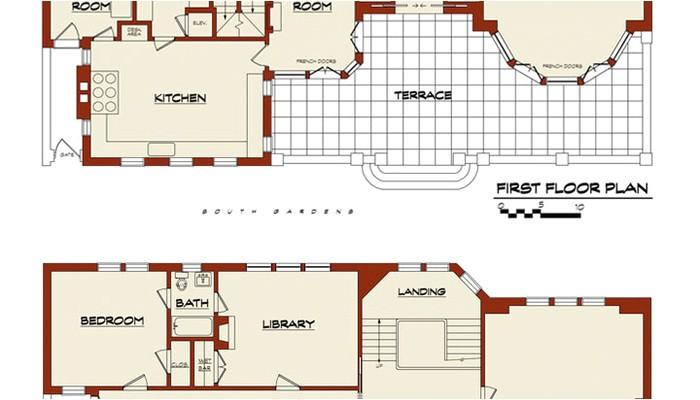mini mansion floor plans