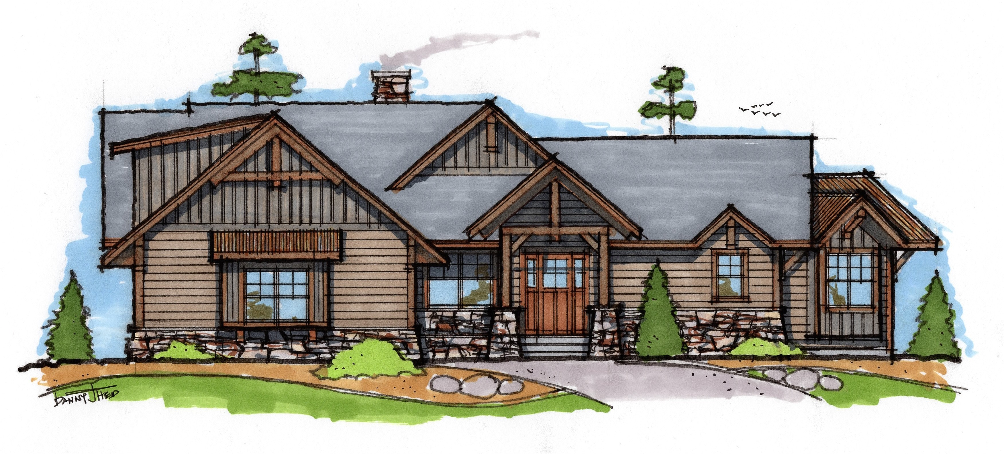 lake home design plans