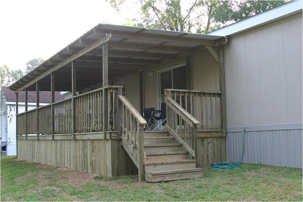 porch designs for mobile homes pictures