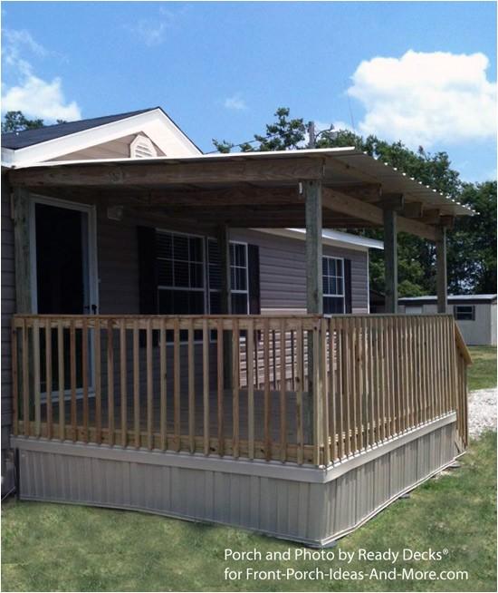 porch designs for mobile homes