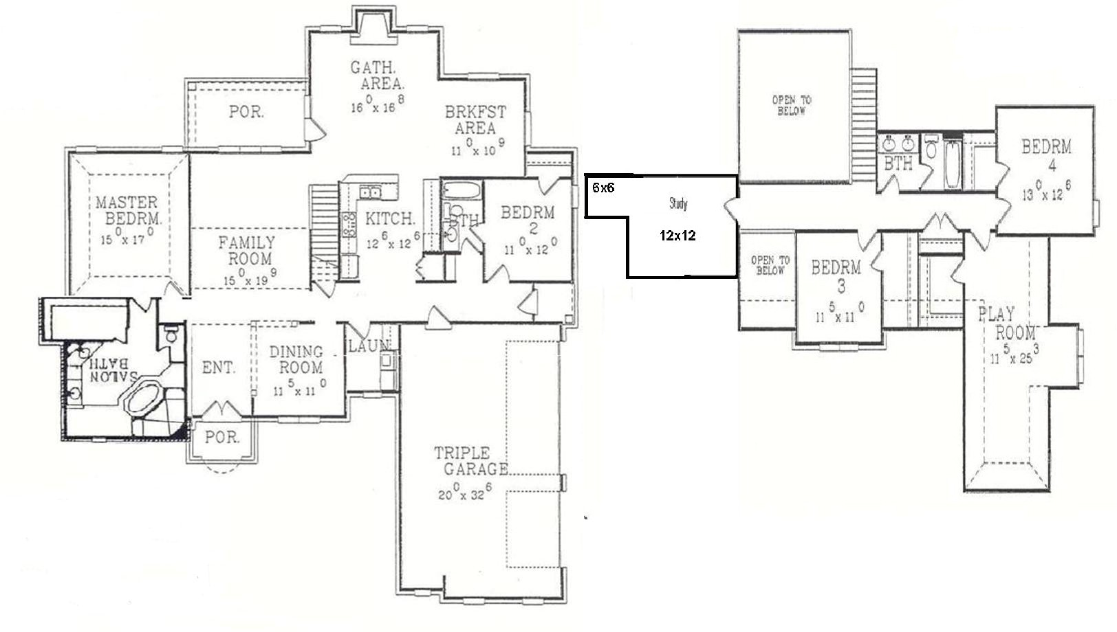 2000 oakwood mobile home floor plan