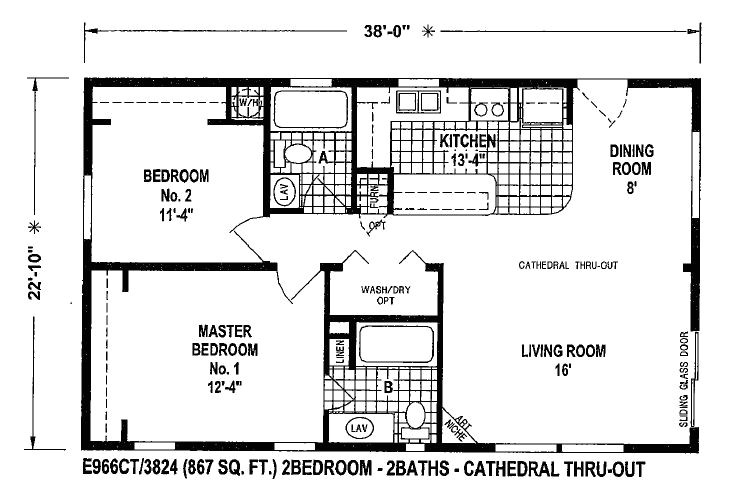 good mobile home plans double wide floor 77342