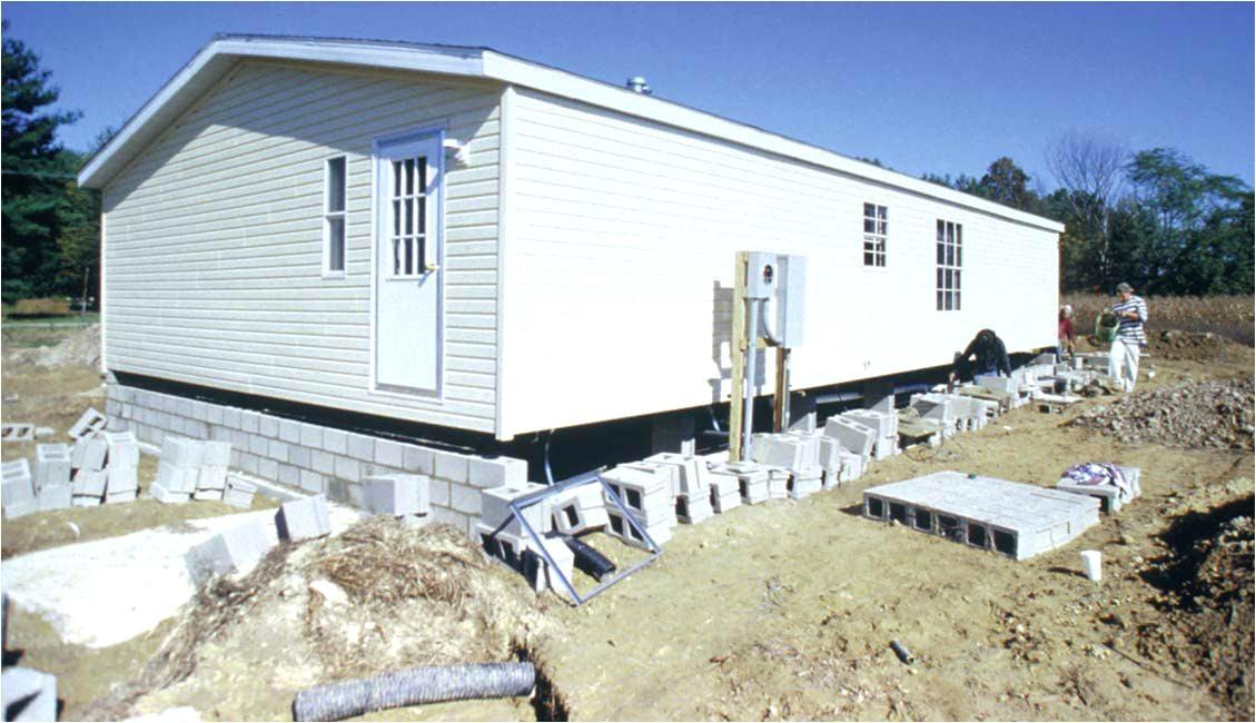 mobile home foundation design