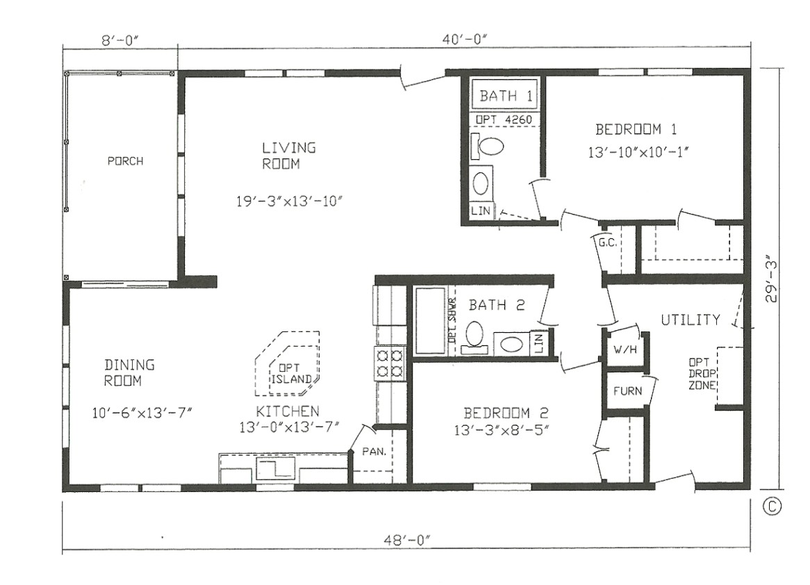 farmhouse modular home house plans cltsd in small mobile homes floor plans