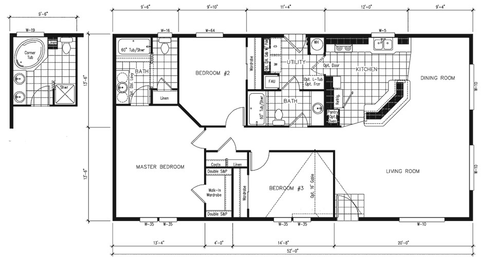 manufactured home plans