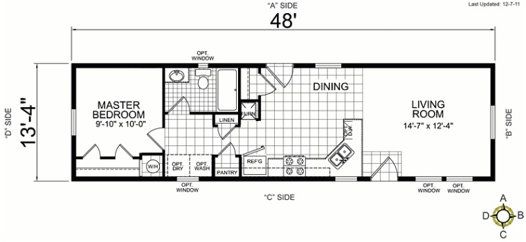 the best of small mobile home floor plans