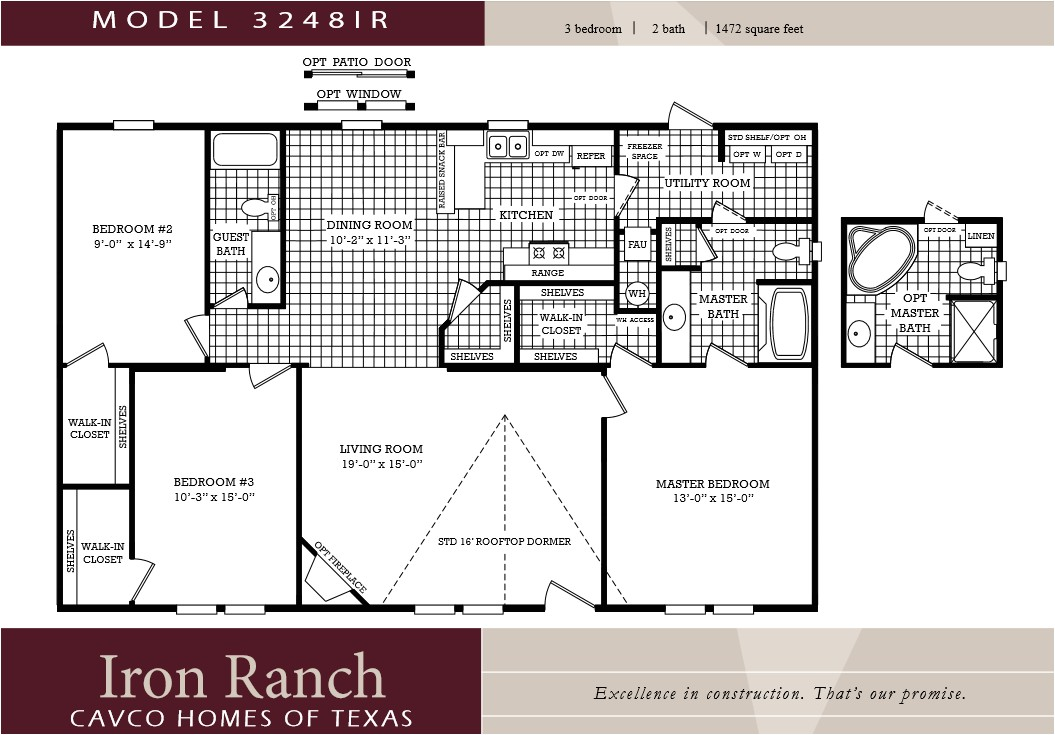 Mobile Homes Floor Plans Double Wide Lovely Mobile Home Plans Double ...