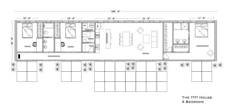 modern berm house plans