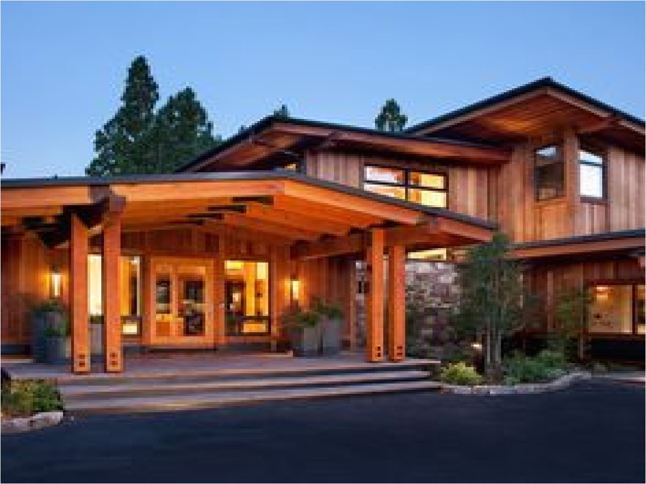 craftsman modern house