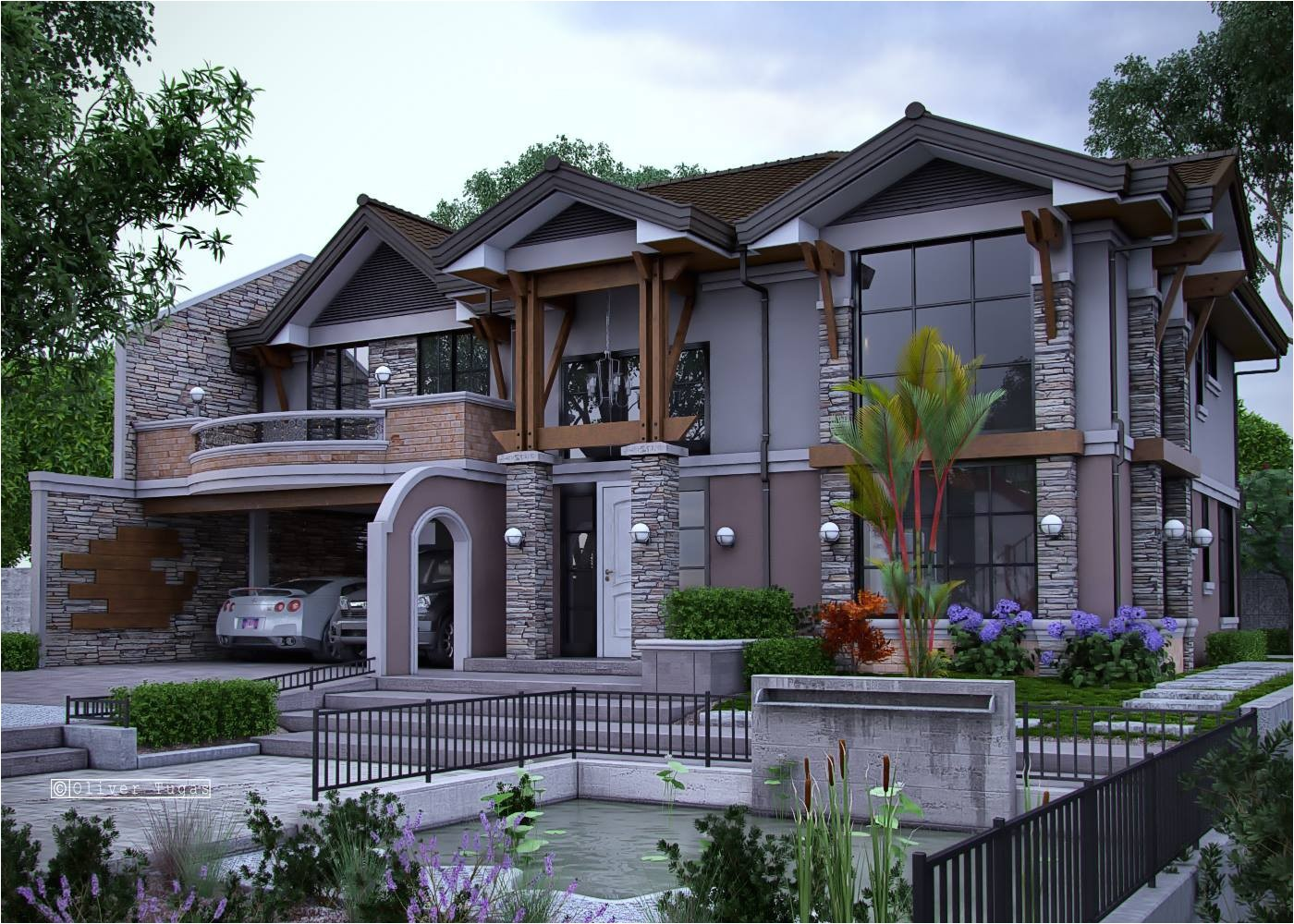popular modern craftsman style home plans