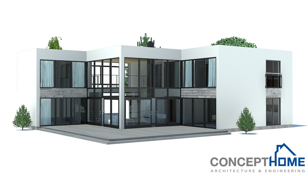Modern Design Home Plans Contemporary House Plans Contemporary Home Ch168