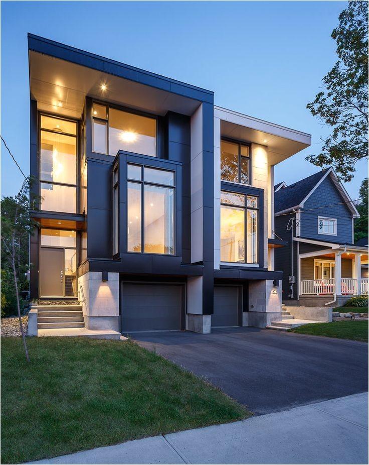 contemporary duplex plans