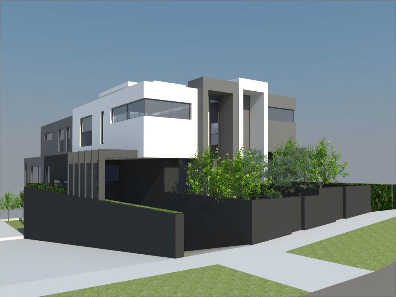 taking look modern duplex house plans