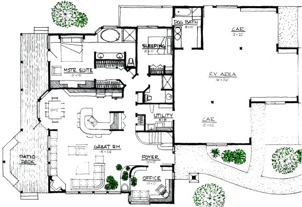 Modern Energy Efficient Home Plans House Plans and Design Modern House Plans Energy Efficient