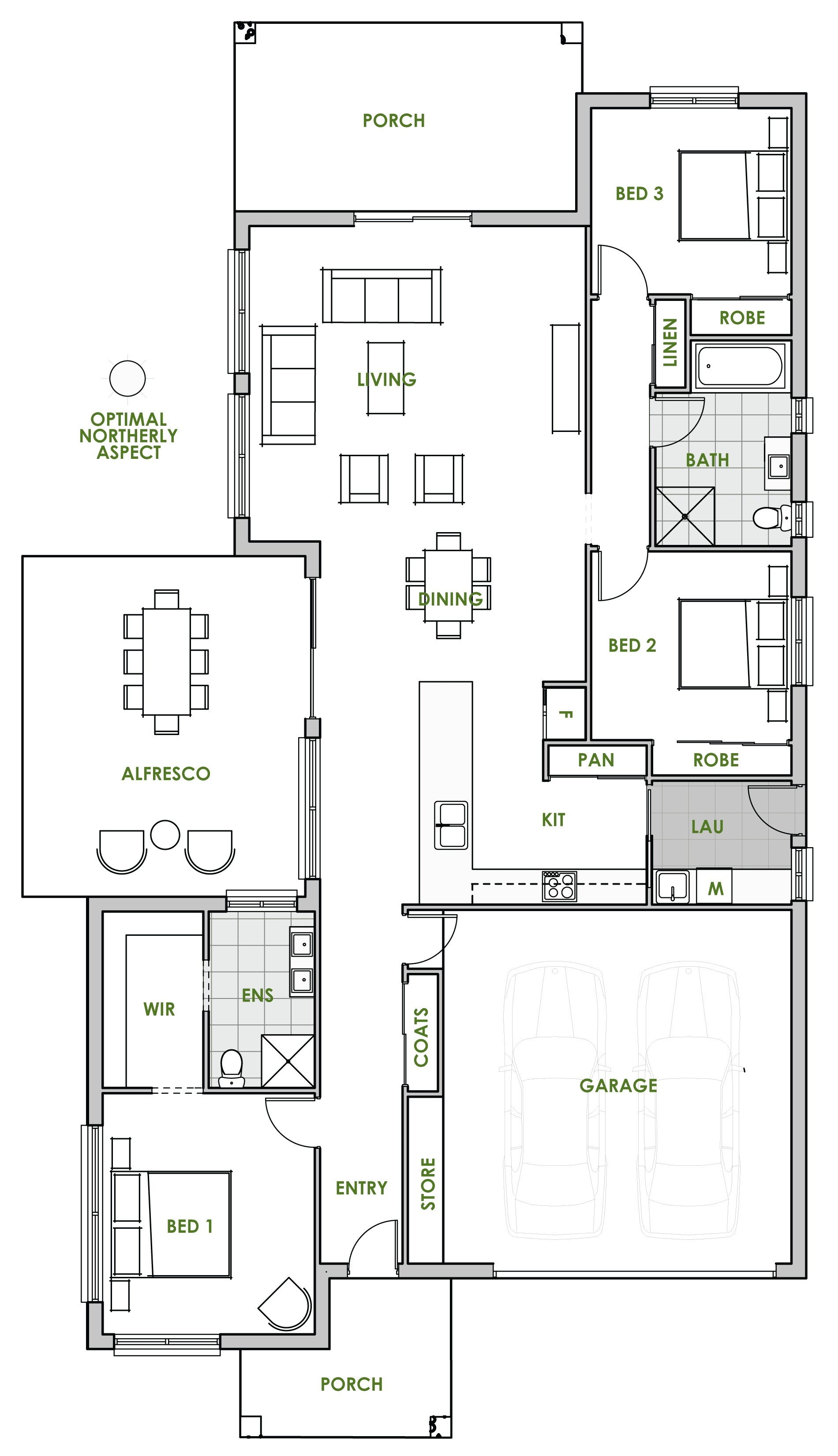 Modern Energy Efficient Home Plans One Story Passive solar House Plans New the Daintree Home