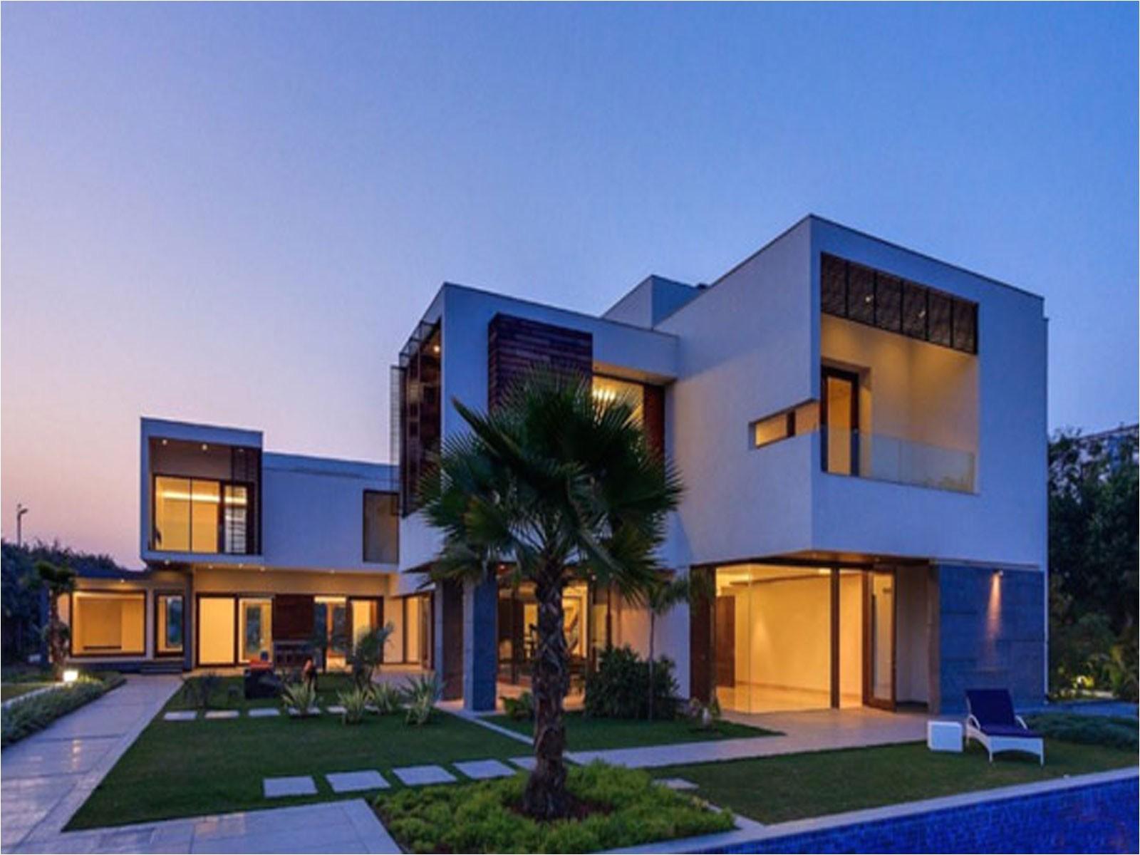 cute modern luxury house