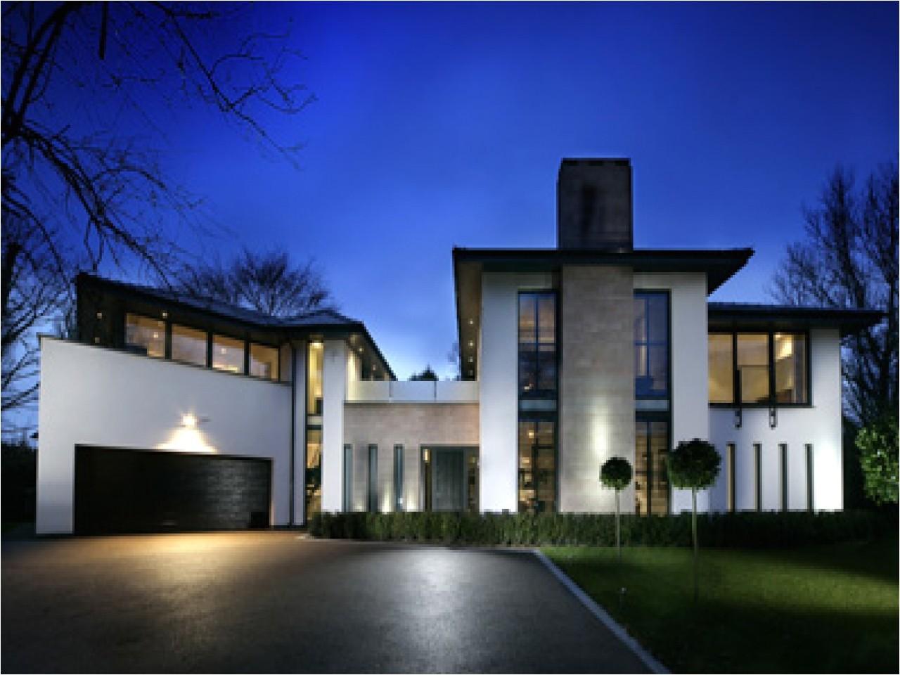 Modern Estate Home Plans Modern Gray Contemporary Home Contemporary Home Modern