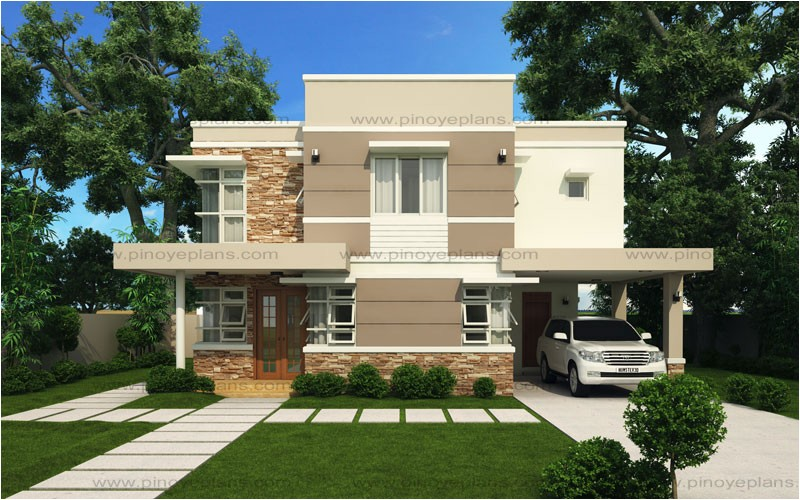 Modern Estate Home Plans Modern House Design Series Mhd 2012006 Pinoy Eplans