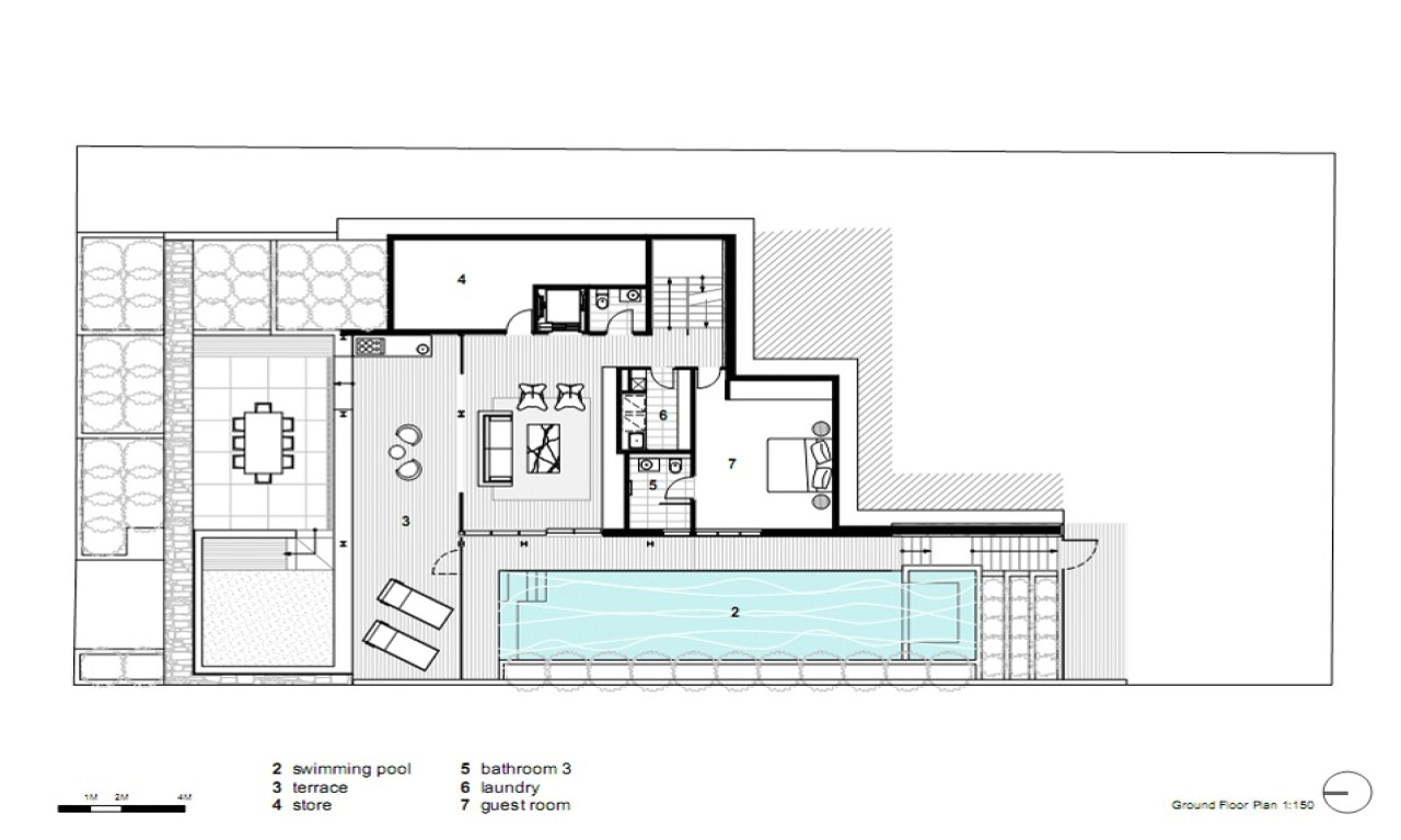 f7c69c97a747148f modern open floor house plans modern house dining room