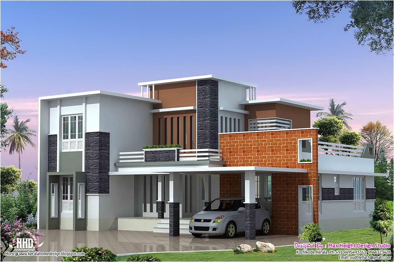 2400sqft contemporary villa