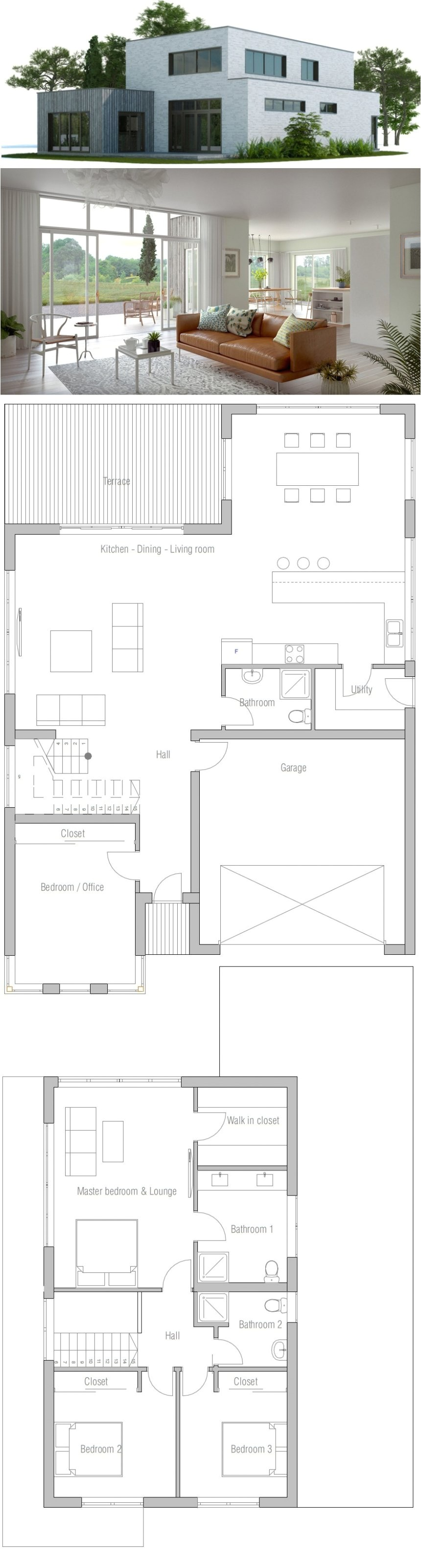 Modern Home Plans Cost to Build Home Architecture Affordable Home Ch Detailed Floor Plans