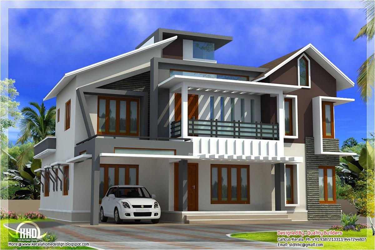 Modern Home Plans In Kerala Modern Contemporary Home In 2578 Sq Feet Kerala Home