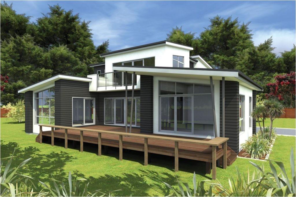 modern lakefront house plans