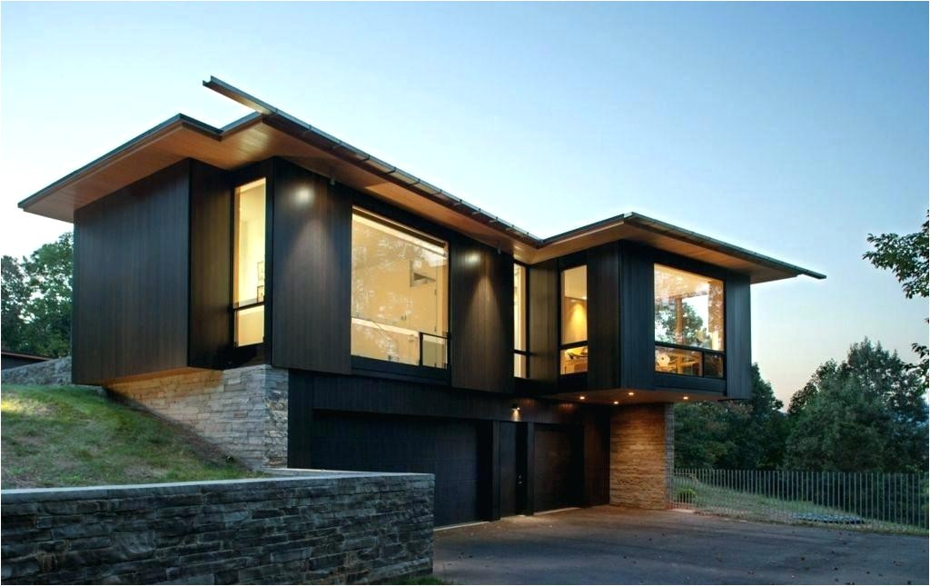 contemporary lake home plans