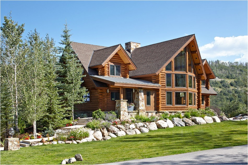 charming log residence in colorado unveiling spectacular contemporary style rooms
