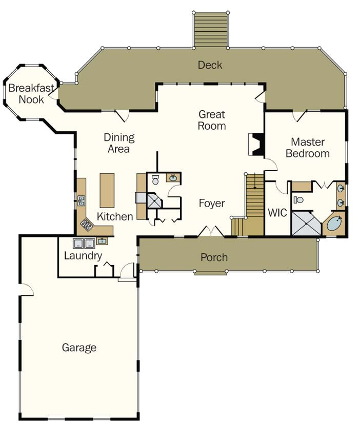modern cabin home plans