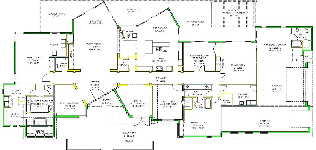 luxury modern house plans viewing gallery