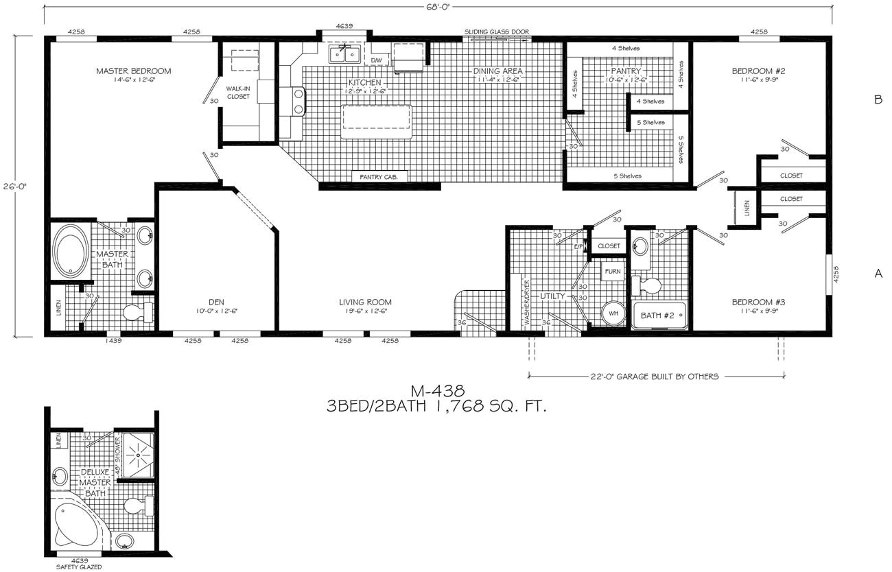 modern prefab floor plans
