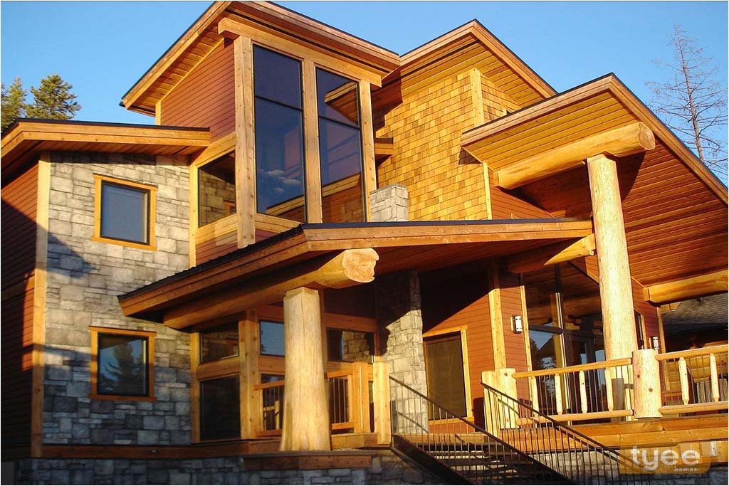 contemporary post and beam house plans