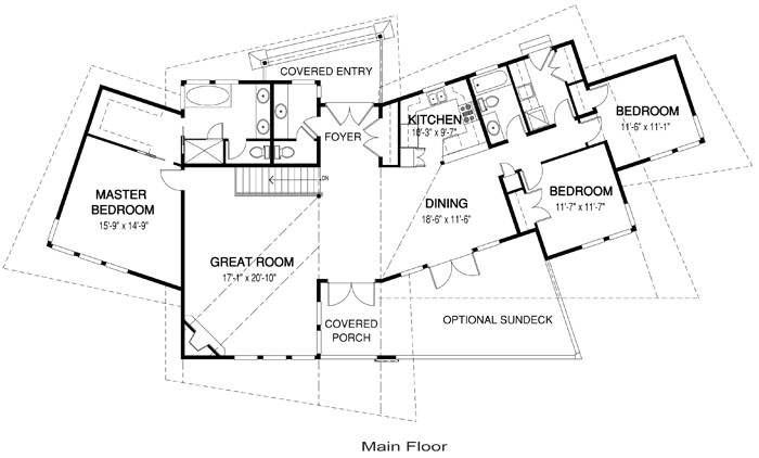 discovery post and beam modern cedar home plans