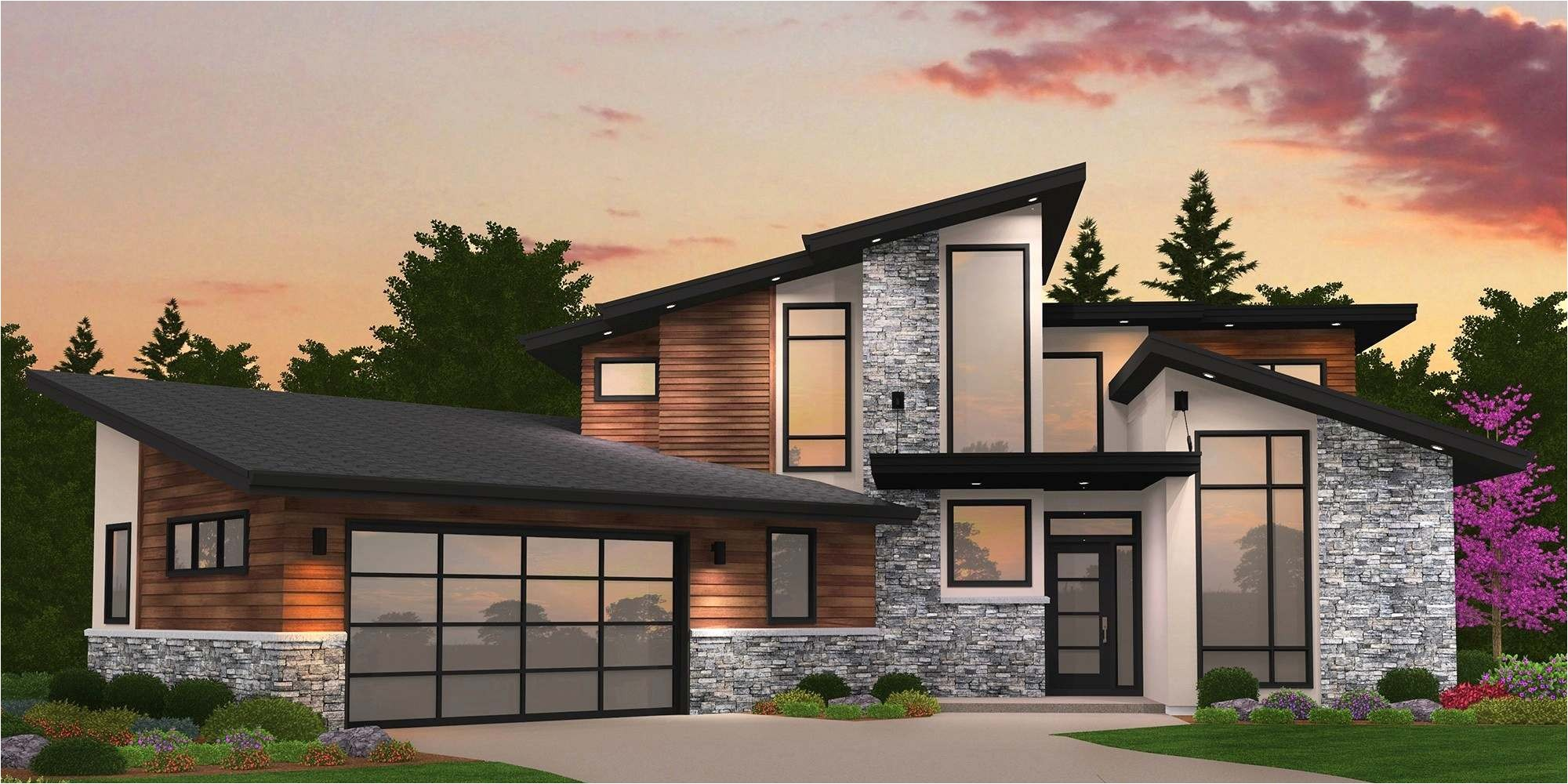 fabulous modern post and beam home plans 13