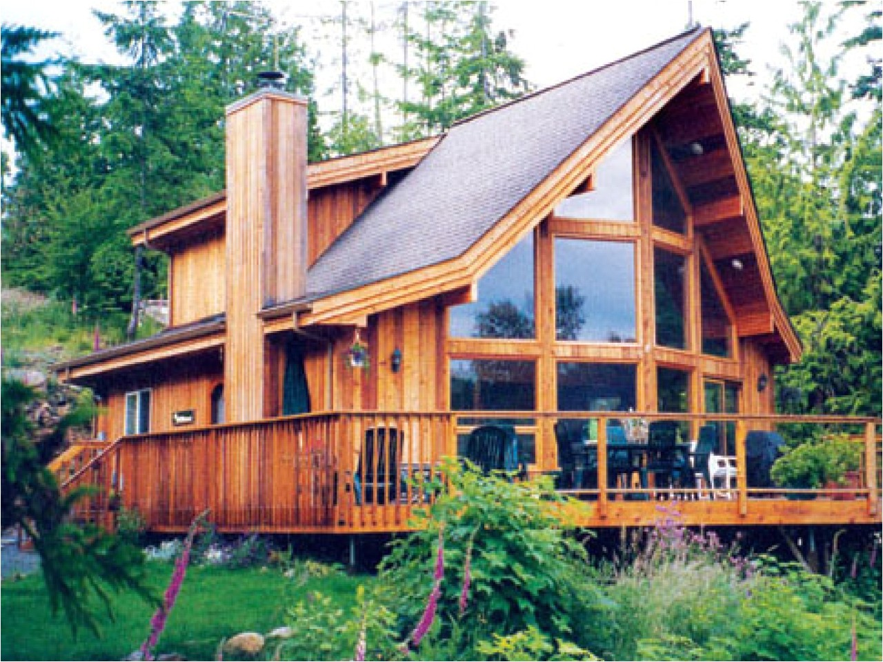 modern post and beam house plans