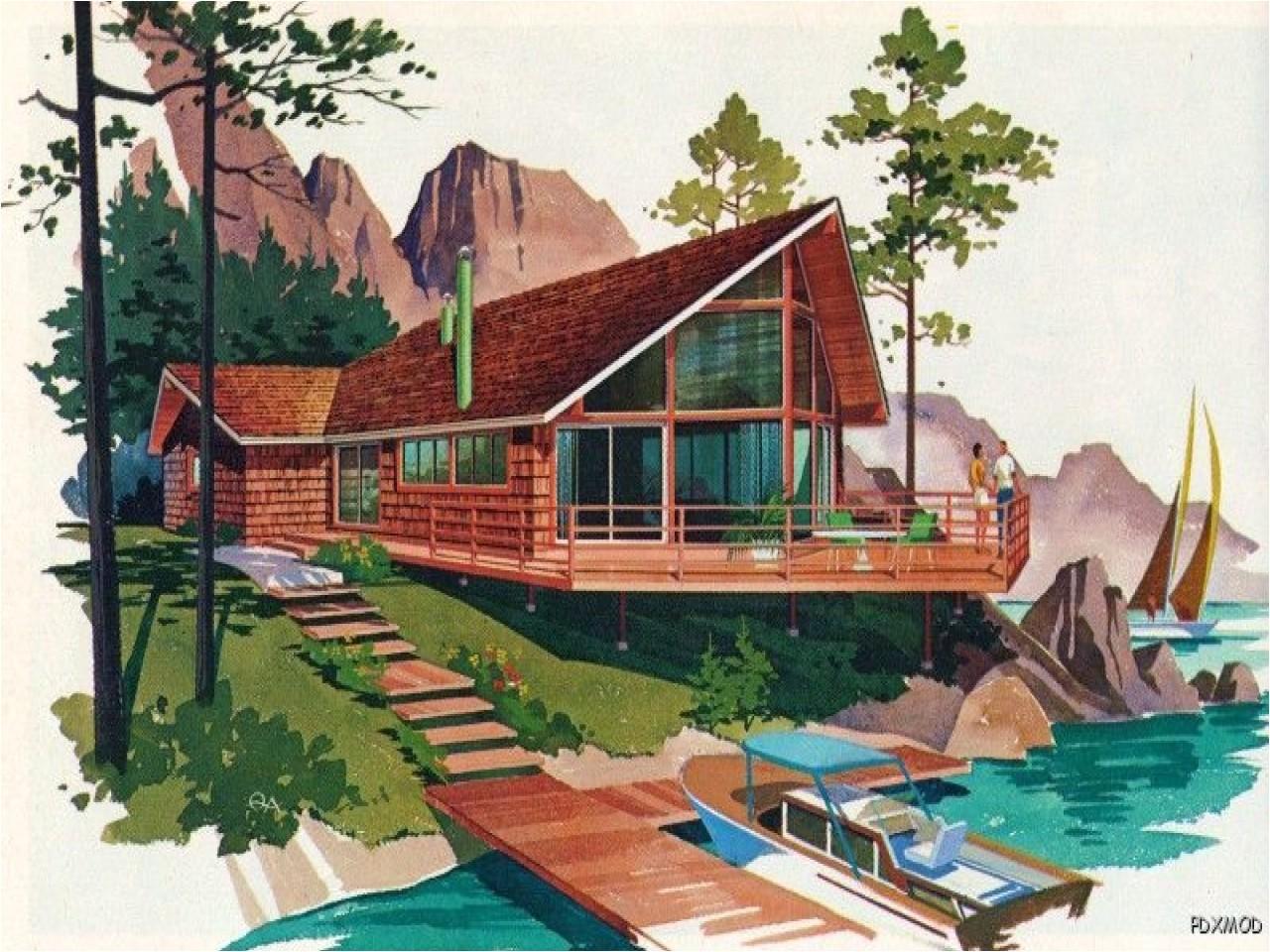 d93abbd5715cfc0a modern vacation homes floor plans a frames chalets lofts decks mid open modern house plans