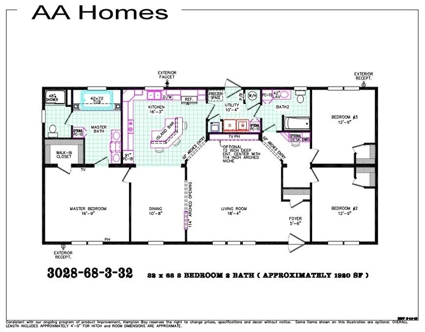 modular home floor plans illinois
