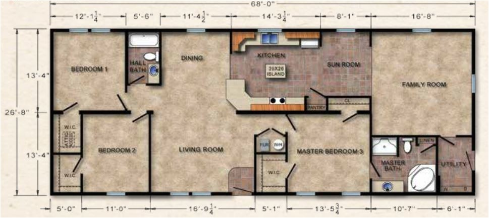 ranch floor plans from crowne homes