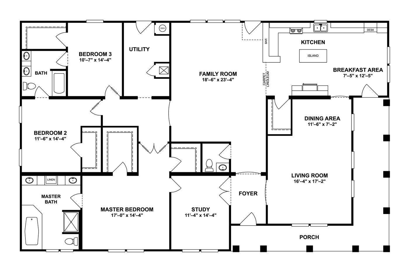 modular home floor plans sc
