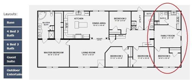 Modular Home Floor Plans with Two Master Suites 3 Manufactured and Modular Homes with Two Master Suites