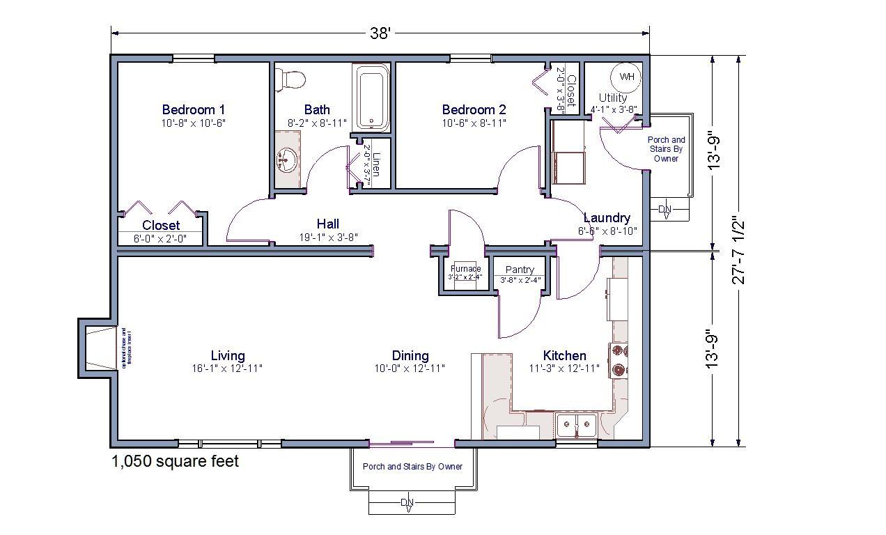 open floor plan modular homes