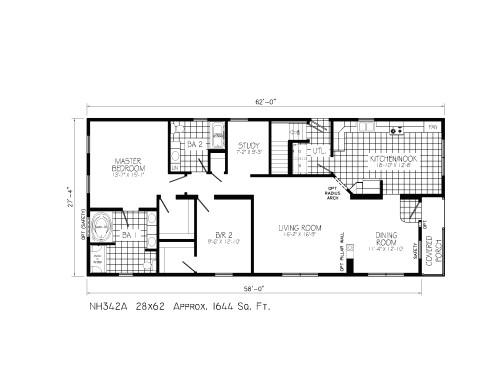 modular home open floor plans