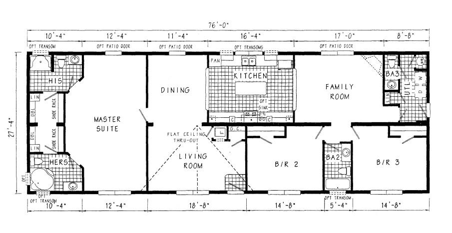 luxury modular home floor plan
