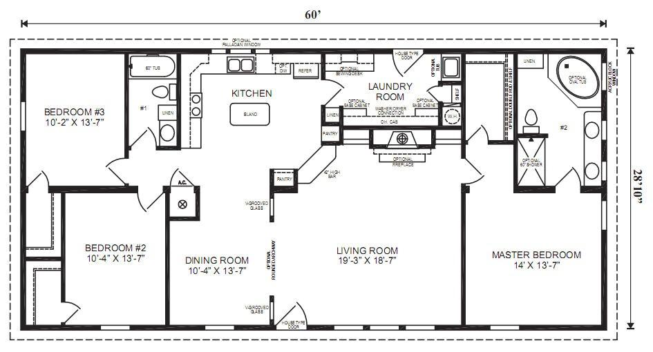 the margate modular home floor plan jacobsen homes
