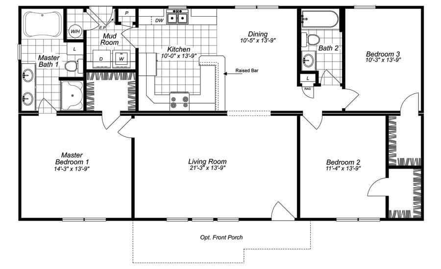 mobile home floor plans north carolina
