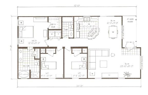 nc modular home floor plans