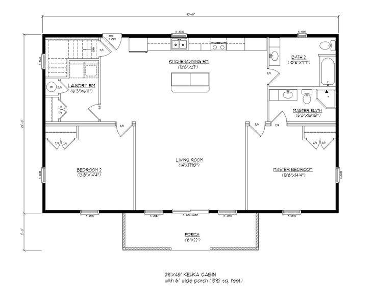 modular cabin floor plans