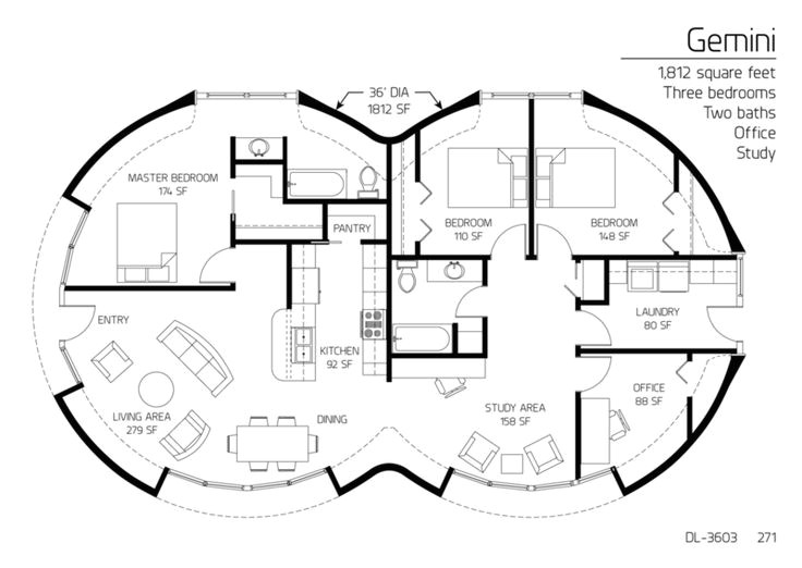 dome home floor plans