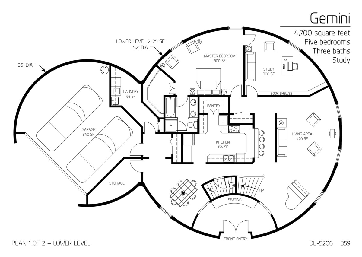 monolithic dome homes floor plans best of floor plan dl 5206 monolithic dome institute future house